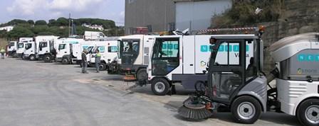 Maquinaria per a la neteja viaria