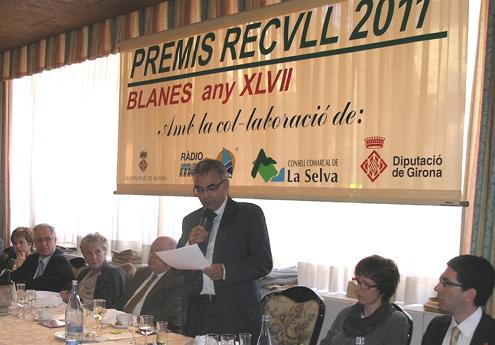 Imatge del Premis Recvull de l'any 2011