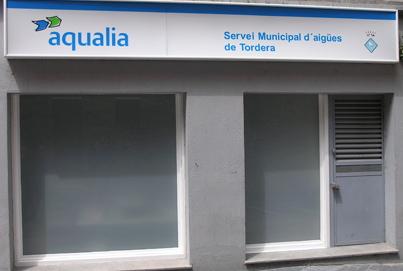 Oficina d'Aqualia a Tordera