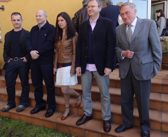 Guanyadors dels Premis Recvll de l'any 2012 / Foto: JFG