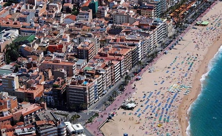 Vista aérea de Lloret de Mar / Foto: Xavier Pou