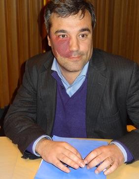 Joaquim Torrecillas (CiU) és regidor a l'Ajuntament de Blanes
