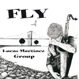 Portada del disco de «Lucas Martínez Group»