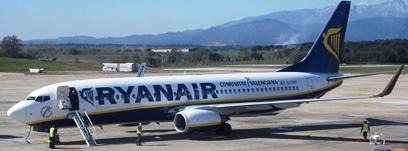 Avió Boeing 737 de Ryanair