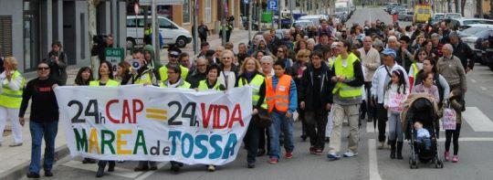 Foto: Facebook de Marea Ciutadana de Tossa de Mar