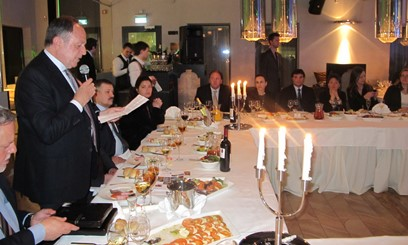 Imatge de la sessió celebrada a Sant Petersbug