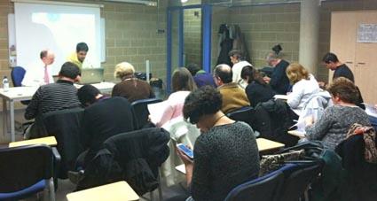 Imatge d'una de les sesions que s'han fet recentment