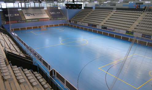 Pista blau de la Ciutat Esportiva de Blanes