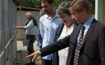 Salvador Balliu, Gisela Saladich i Eduard Adrobau