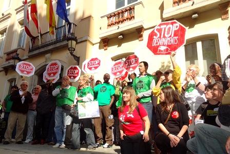 Membres de les PAH de les comarques gironines / Foto: JFG