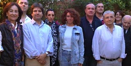 Membres de l'agrupació del PPC a Sana Coloma de Farners