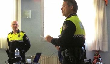 Els agents van donar consells preventius