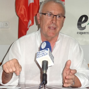 Cayo Lara pidió la dimisión de Rajoy