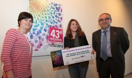 Carla Garcia, al centre de la imatge, va ser la guanyadores de l'any passat