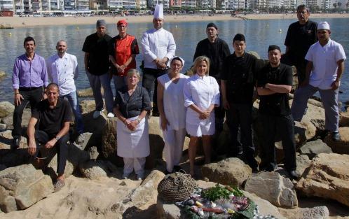 Cuiners dels restaurants que participen en la promoció