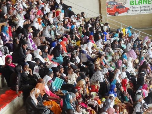 Reunión de musulmanes de Senegal y Gambia celebrada en Blanes en junio de 2013 / Foto: JFG