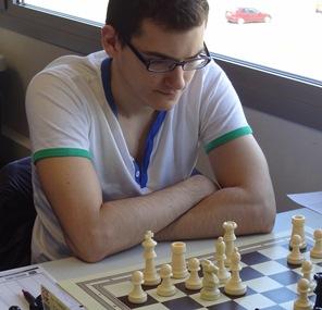 Marc Sánchez, ayer durante la última partida del torneo