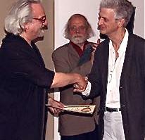 Mario Ros, a la dreta de la imatge