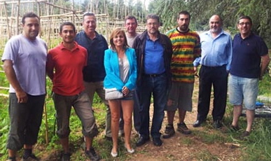 Les persones que han participar en la trobada / Foto: Ajuntament d'Aurbúcies