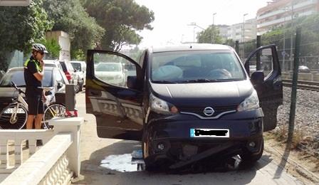 Se han activado los dos airbags del vehículo / Foto: JFG
