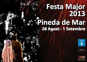 Cartell de la Festa Major de Pineda