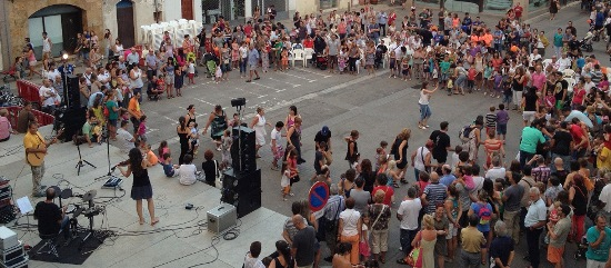 Festa infantil, a la plaça dels Dies Feiners
