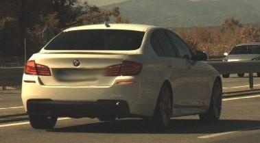 Imatge del vehicle en el moment de cometre la infracció / Foto: Mossos d'Esquadra