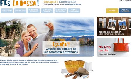 Portada de la web www.feslabossa.cat
