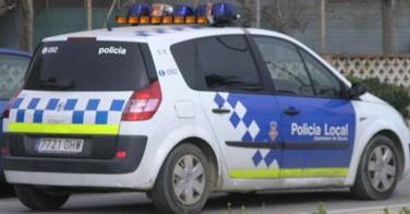 Vehículo de la policía local de Blanes