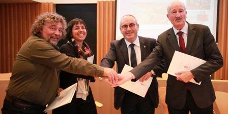 Xavier Reñaga, Cristina Portas, Josep Marigó i Domènec Espadalé