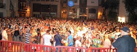 Imagen del acto celebrado durante la Festa Major