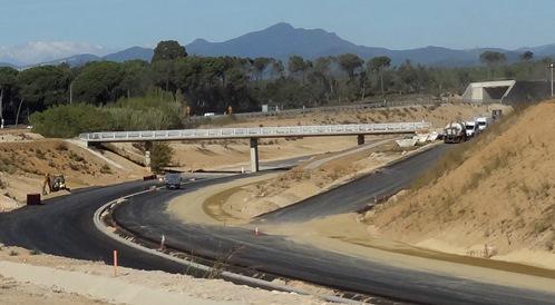 Uno de los tramos en los que las obras están muy avanzadas / Foto: JFG
