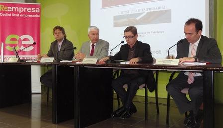 D'esquerra a dreta, Antoni Abada, Salvador Balliu i