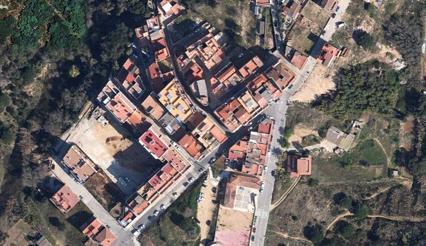 Barrio de Valldolig / Foto: Google Earth