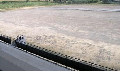 Imagen del campo de fútbol que se proyecta acondicionar en 2014