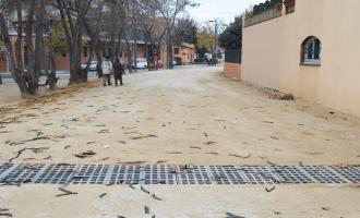 La riera al seu pas per Can Feliciano / Foto: Ajuntament de Malgrat