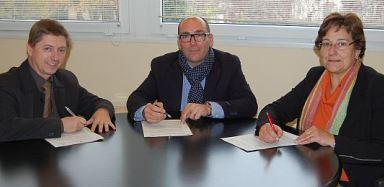 Salvador Balliu, Josep Antoni Frias i Montserrat Roura