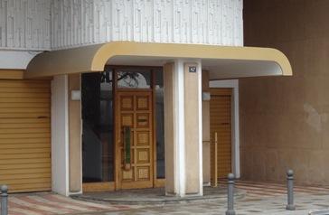El pis es trova al número 47 de Passeig Pau Casals