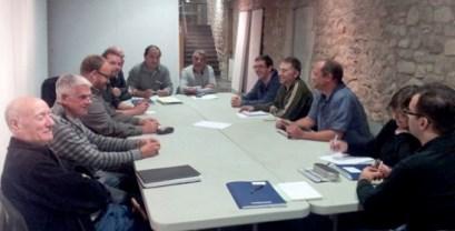 Comissió arbucienca del Tricentenari / Foto: Ajuntament d'Arbúcies