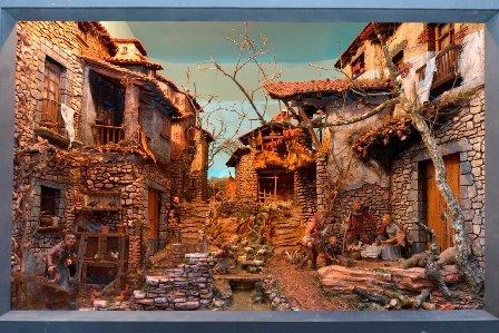 Diorama guanyador, obra del lloretenc Josep Ferrer