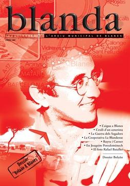 Portada de la revista, dedicada a Roberto Bolaño