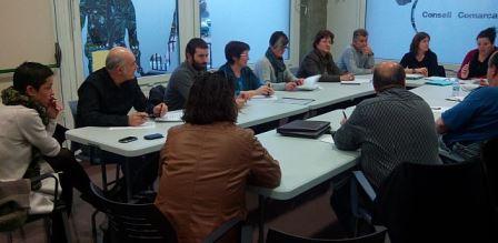 Imatge de la reunió de regidors de Benestar Social