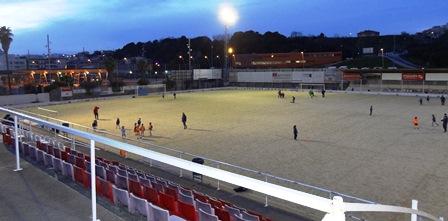 Campo municipal de fútbol de Els Pins / Foto: JFG