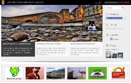 Web de l'Ajuntament de Camprodon
