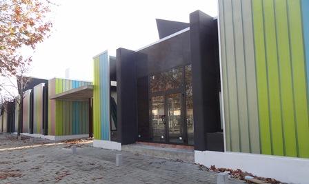 El nou centre cívic de Santa Susanna / Foto: JFG
