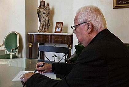 El bisbe Francesc Pardo