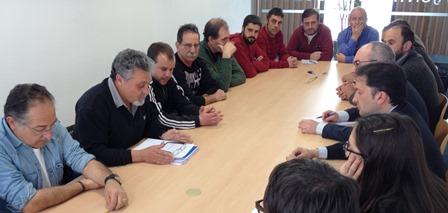Imatge de la reunió / Foto: Ajuntament de Blanes