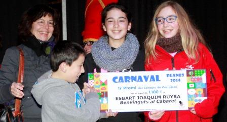 L'Esbart Joaquim Ruyra va guanyar el primer premi de les carrosses blanencas / Foto: Quim Llorens