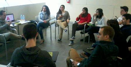 Van participar representants dels sindicats de joves Avalot i