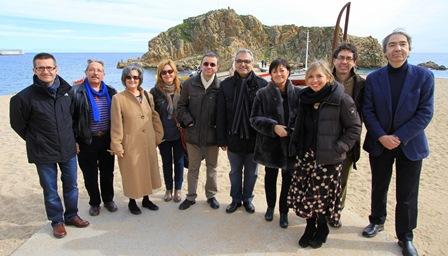 Els membres del jurat dels Premis Recvll / Foto: Quim Llorens